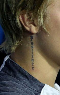 Nice Justin Bieber Tattoo Images