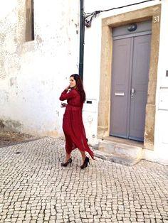 Sheinside Red Dress