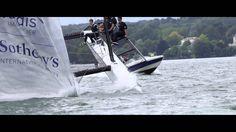 Team Tilt Sailing - nosedive