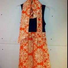 Handmade Auburn dress