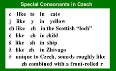 Learning Czech
