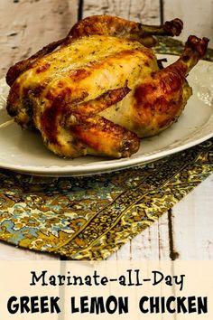 Marinate-All-Day Greek Lemon Chicken Recipe on Yummly. @yummly #recipe