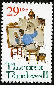 U.S.A., 29¢, 1994 Commemorative — Norman Rockwell (artist)