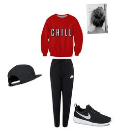 """""""Untitled #38"""" by alexisxxr ❤ liked on Polyvore featuring NIKE"""