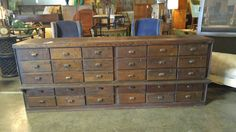1880's Thirty Drawer Cabinet From Amsterdam by CottageTreasuresLV