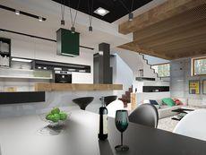 DOM.PL™ - Projekt domu HG-I22 CE - DOM AL1-92 - gotowy koszt budowy House Layout Plans, Dream House Plans, House Layouts, Dom, Conference Room, Furniture, Design, Plane, Home Decor