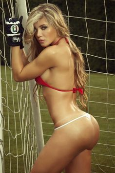 she is so nasty blonde in a very provocative and challenging bikini on the football field.She's showing her large firm breasts and horny juicy ass. Vive Le Sport, Mystic Girls, Fit Women, Sexy Women, Sexy Girl, Sport Girl, Most Beautiful Women, Beautiful Buns, Hello Beautiful