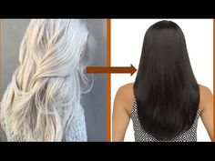 How to change white color to black hair