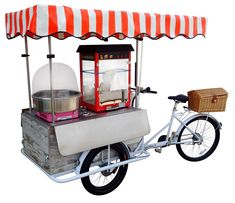 POP CORN BIKE is a tricycle equipped for Production and Itinerant Sale of POP-CORN . It works with batteries with good Authonomy Le Cargo, Cargo Bike, Vintage Bench, Vintage Wood, Tube Vintage, Pvc Canopy, Safety Switch, 3rd Wheel, Side Door