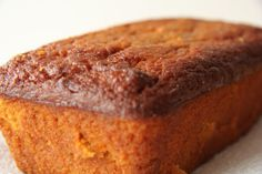 Pumpkin Cake (Almond Flour) - low carb - Top with a sugar free cream cheese icing and you are in moist cake heaven!