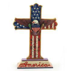 """Jim Shore's """"God Bless America"""""""