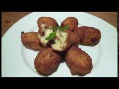 ▶ Croquetas caseras de jamón - Recetas de cocina - YouTube