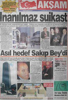 Akşam gazetesi 10 ocak 1996