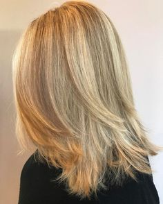 60 Fun and Flattering Medium Hairstyles for Women Medium Hair Cuts, Medium Hair Styles, Curly Hair Styles, Long Face Hairstyles, Straight Hairstyles, Fun Hairstyles, Wedding Hairstyles, Middle Hairstyles, Braided Hairstyles