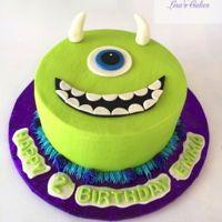 Monster Inc. Birthday Cake