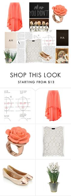 """AH-HA"" by gabriela-krchnacek ❤ liked on Polyvore featuring beauty, Chronicle Books, H&M, Lori's Shoes, Topshop, Accessorize, sOUP, Swarovski and BULB"