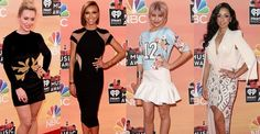 2014 #iHeartRadioMusicAwards #RedCarpet #BestDressed #Celebrities