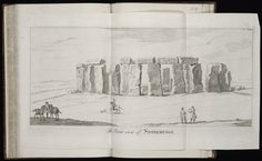 Album containing 122 engravings by Stukeley, many in proof, assembled by the artist himself. Contents include 85 engravings from Itinerarium Curiosum and 23 from Stonehenge, a Temple Restor'd to the British Druids.