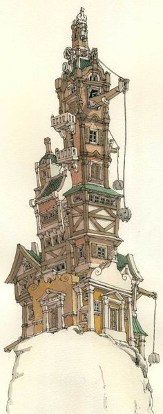 Getting the elephants upstairs  Architecture by Mattias Adolfsson