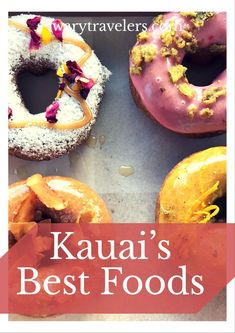 Best Food on Kauai - Our List of the Best Foods on Kauai - Here are some of our go to places to eat on Kauai. Lihue Kauai, Princeville Kauai, Kauai Vacation, Hawaii Honeymoon, Italy Vacation, Vacation Spots, Vacation Ideas, Big Island Hawaii, Kauai Island