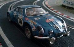 Alipine Renault A 110 de Team Slot. Montecarlo 1973. Otro misil en la pista!