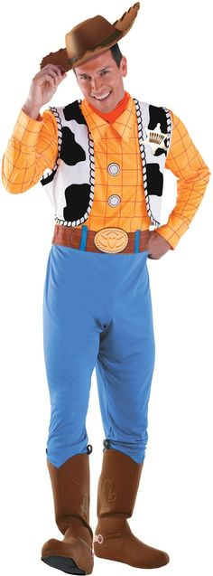 Toy Story - Woody Deluxe Adult Costume from CostumeExpress.com