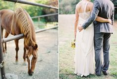 southern style wedding, horses are a must