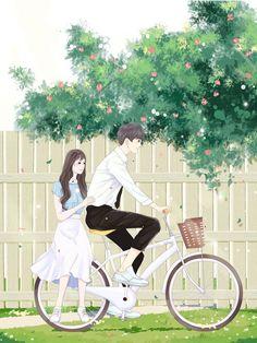 Cung Cấp Ảnh Để Design Bìa Truyện Những ảnh có thể dùng làm bìa truy… #ngẫunhiên # Ngẫu nhiên # amreading # books # wattpad Cute Couple Art, Anime Love Couple, Cute Anime Couples, Girl Cartoon Characters, Cartoon Pics, Pretty Anime Girl, Anime Art Girl, Animated Love Images, Cute Love Pictures