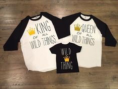 Where the wild things are themed shirts. Birthday boy shirts. Birthday girl shirts. Birthday themed movie t-shirts. Family shirts. Matching.