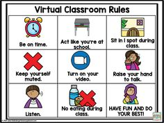Kindergarten Rules, Teaching Rules, Kindergarten Smorgasboard, Kindergarten Activities, Preschool, Spring Activities, Teaching Resources, Teaching Ideas, Online Classroom