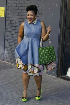Beautiful Ankara Styles for the Plus size Ladies African Shirts, African Print Dresses, African Print Fashion, Africa Fashion, African Fashion Dresses, African Dress, African Outfits, Ankara Fashion, African Attire