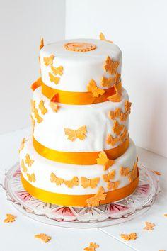 Gâteau de mariage à l'américaine ou wedding cake