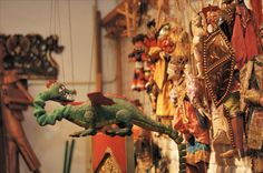 On Children's Day discover the wonderful world of the Brussels International Puppet Museum!