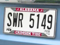 "University of Alabama License Plate Frame 6.25""""x12.25"""""