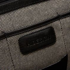 interior geanta din piele naturala, geanta barbateasca  HIDESIGN, servieta barbateasca mare - incapatoare, geanta neagra din piele naturala, genti barbatesti, serviete business, geanta cu 3 compartimente;