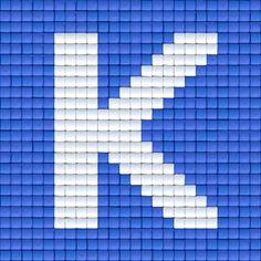 X Letter K   Pixel Party