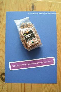 """Wenn-Buch """"Wenn du mal was zum Stress abbauen brauchst ..."""" #Mandeln #Zucker #süß"""
