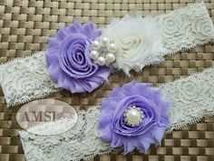 Wedding Garter Garter Belt wedding garter set bridal garter Lace garter Romantic…