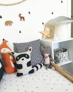 Pretty Linen kids room / Decoración nórdica