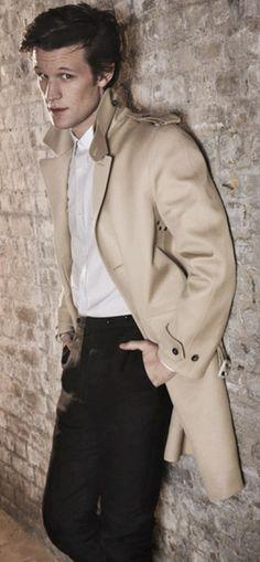 Wonderful male portrait pose, beautifully demonstrated by Mr. Matt Smith.