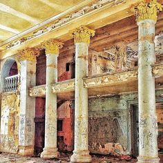 Abandoned movie hall