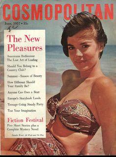 Cosmopolitan magazine, JUNE 1957 Natalie Wood on cover