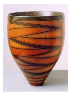 Vase (burnished earthenware) 2003 by Duncan Ross.