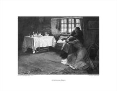 "A HOPELESS DAWN Engraving Reproduction 11""x14"" $29.95"