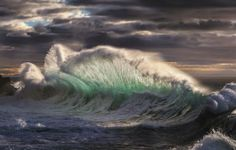 Dramatic photographs show ice-cold waves crashing against Italian shoreline creating a crystal-like blanket of water No Wave, Giant Waves, Huge Waves, Sea Storm, Waves Photography, Stunning Photography, Nature Photography, Rough Seas, Italy Pictures