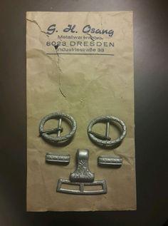German WWII Army Dagger Hanger Parts