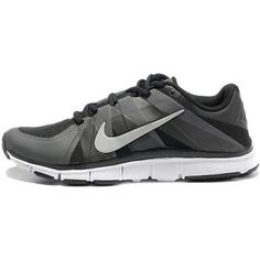 innovative design 238b4 c2d40 Mens Nike Free Trainer 5.0 Black Grey Silver Running Shoes