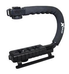 Polaroid Sure-GRIP Professional Camera / Camcorder Action Stabilizing Handle Mount For The Nikon 1 Digital SLR Cameras Best Dslr, Best Camera, Iphone 5s, Best Professional Camera, Nikon, Dslr Cameras, Dslr Aperture, Dslr Photography Tips, Shopping