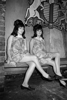 Doublemint twins after dark...