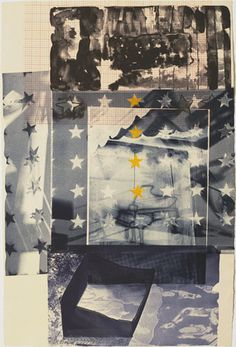 "Carillon  Robert Rauschenberg (American, 1925–2008)    1981. Lithograph, irreg composition 40 x 26 11/16"" (101.7 x 67.8 cm) sheet 40 x 26 13/16"" (101.7 x 68.1 cm). Gift of Celeste Bartos. © 2013 Robert Rauschenberg Foundation/Licensed by VAGA, New York,"